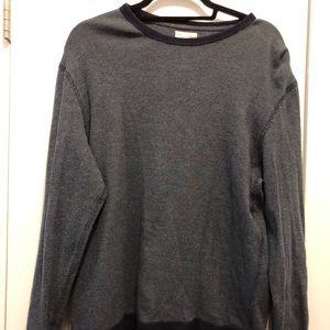 J. Crew Long Sleeve Crewneck Sweater Blue